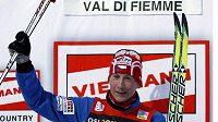 Lukáš Bauer po bezkonkurenčním vítězství na Tour de Ski.