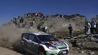 Fin Mikko Hirvonen s vozem Ford si uvědomuje, že v Řecku čeká na jezdce peklo.