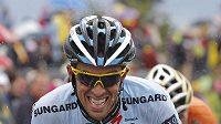 Alberto Contador už ví, že počtvrté v kariéře Tour letos nevyhraje.