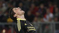Liverpoolu se ndařilo ani v Evropské Lize proti Utrecgtu. Gesto Fernanda Torrese hovoří za vše.