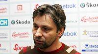 Asistent trenéra hokejové reprezentace Josef Jandač