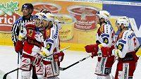 Hokejisté Slavie Praha