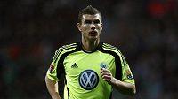 Útočník Wolfsburgu Edin Džeko by rád oblékal dres Citizens.