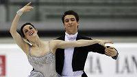 Olympijští vítězové Tessa Virtueová a Scott Moir. Ilustrační foto.