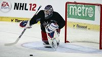 Brankář Henrik Lundqvist tréninku New York Rangers