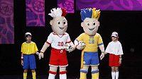 Maskoti mistrovství Evropy ve fotbale