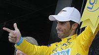 Alberto Contador ve žlutém trikotu vítěze. Zůstane mu?