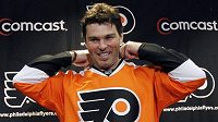 Jaromír Jágr v dresu Philadelphia Flyers.