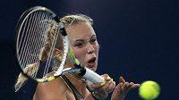 Nová ženská tenisové jednička Caroline Wozniacká.