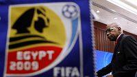 Místopředseda FIFA Jack Warner v dějišti MS do 20 let v Egyptě