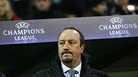 Trenér Interu Milán Rafael Benitez