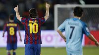 Fotbalový král planety Lionel Messi opět rozhodl o výhře Barcelony.