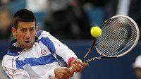 Srbský tenista Novak Djokovič je letos zatím bez konkurence.