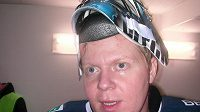 Hokejový brankář Marek Pinc