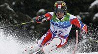 Olympionik Ondřej Bank získal během prvního dne českého šampionátu sjezdařů dva tituly.