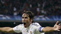 Radost Raula Gonzalese z Realu Madrid.