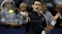 Srbský tenista Novak Djokovič v semifiále v Basileji prohrál, lepším byl Japonec Kei Nišikori.
