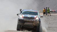 Toyota Czech Dakar Teamu v poušti