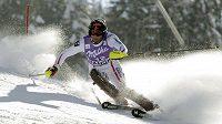 Mario Matt si dojel v Bansku pro triumf v SP ve slalomu.