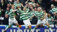 Radost fotbalistů Celtiku - ilustrační foto