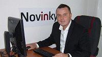 Jindřich Rajchl při on-line rozhovoru se čtenáři Sport.cz.