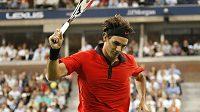 Roger Federer v semifinále US Open