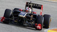 Pilot týmu Lotus Renault Vitalij Petrov