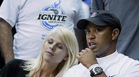 Golfista Tiger Woods se svou manželkou Elin.
