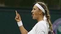 Běloruská tenistka Viktoria Azarenková na archivním snímku.