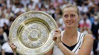 Stále si neuvědomuju, že jsem vyhrála Wimbledon, říká Kvitová.