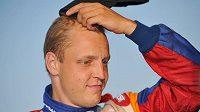 Mikko Hirvonen při Rallye Akropolis, která očekávání Fordu letos nesplnila.