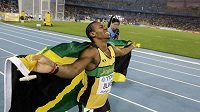 Jamajský sprinter Yohan Blake