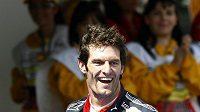 Australan Mark Webber bude jezdit v týmu Red Bull i v příští sezóně.