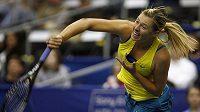 Ruská tenistka Maria Šarapovová na turnaji v Memphisu