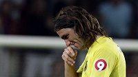 Zklamaný kapitán Villarrealu Gonzalo Rodriguez