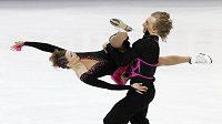 Ještě vloni jezdila Lucie Myslivečková s Matějem Novákem (na snímku), teď už má tanečního partnera z Francie.