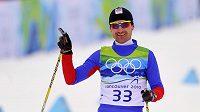 Běžec na lyžích Jiří Magál