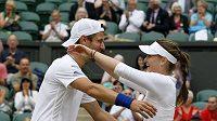Radost tenisového páru Jürgen Meltzer, Iveta Benešová