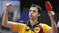 Německý stolní tenista Timo Boll byl hlavní hvězdou ME v Ostravě