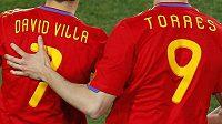 Fernando Torres k Davidu Villovi: Když to nejde mně, aspoň že dáváš góly ty...
