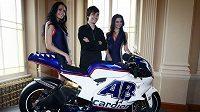 Nová láska Karla Abrahama. Řeč je samozřejmě o motocyklu Ducati královské kategorie MotoGP.