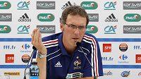 Trenér francouzské fotbalové reprezentace Laurent Blanc.