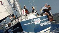 Vítězná posádka České námořní rallye