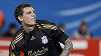 Daniel Agger v dresu Liverpoolu