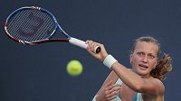 Tenistka Petra Kvitová během US Open