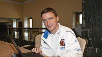 Vladimír Šmicer během on-line chatu se čtenáři Sport.cz