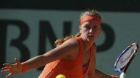 Tenistka Petra Kvitová na French Open