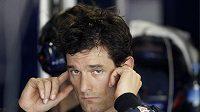 Pilot formule 1 ze stáje Red Bull Mark Webber
