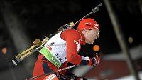 Stíhačku biatlonistů v Hochfilzenu vyhrál Nor Emil Hegle Svendsen.