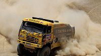 Aleš Loprais během letošní Rallye Dakar.